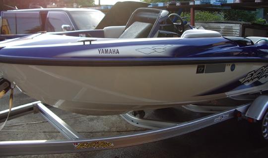 中古ジェットボート ヤマハEXCITER1430TR 全体画像