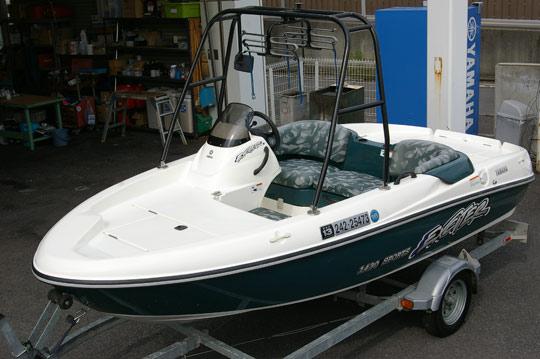 2001中古ジェットボート ヤマハ エキサイター1430スポーツ セール